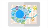 GPSエリア設定機能