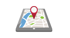 GPSロガーデータをGoogle マップ上での移動軌跡の確認